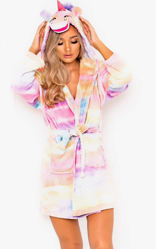 Felicity Unicorn Dressing Gown