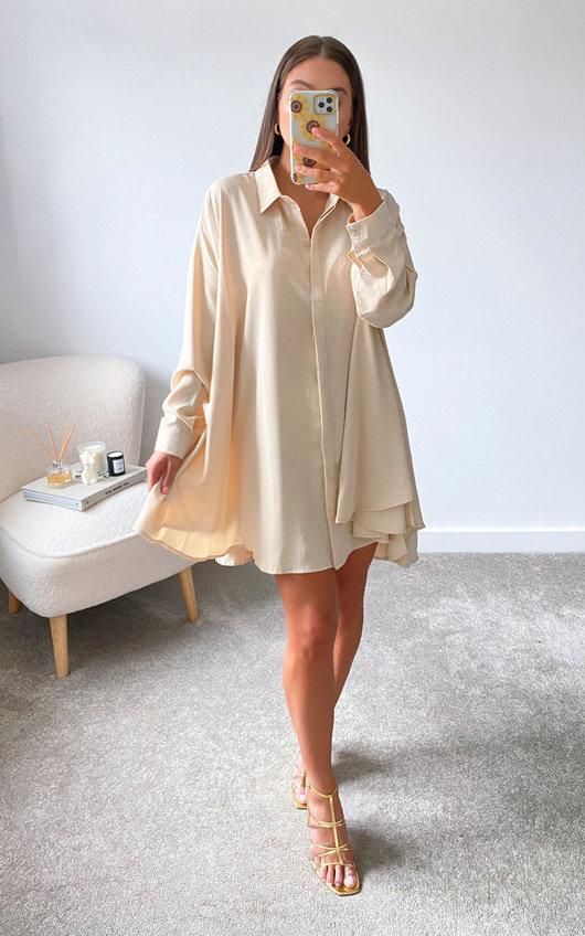 Fern Oversized Shirt Dress