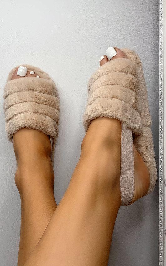 Fliss Faux Fur Slippers