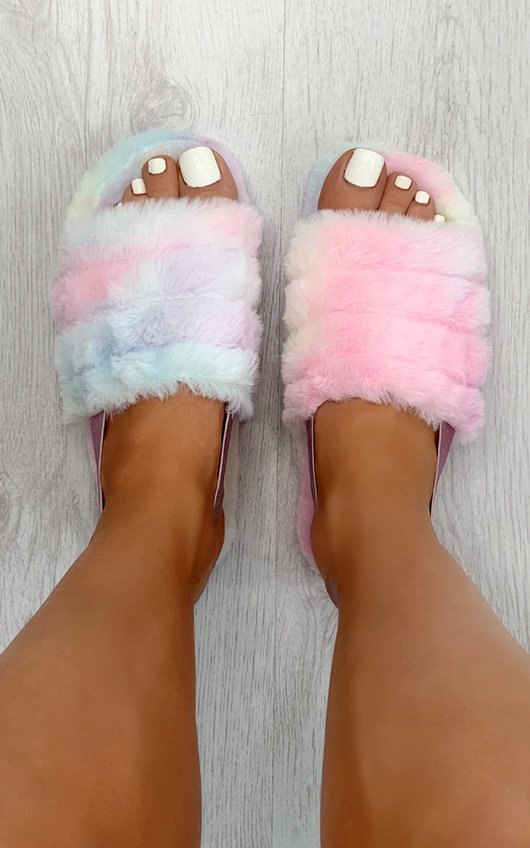 Fliss Faux Fur Slippers