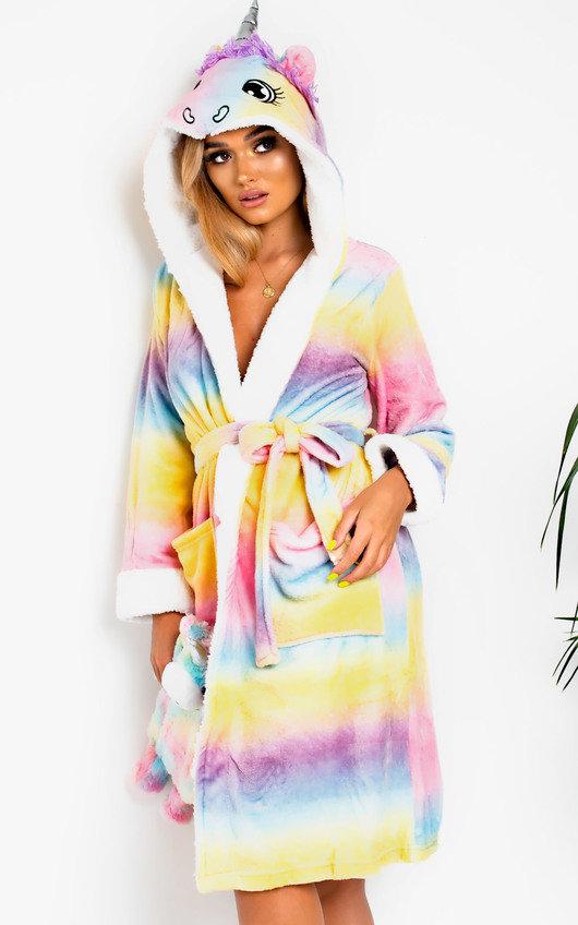 Fliss Unicorn Dressing Gown