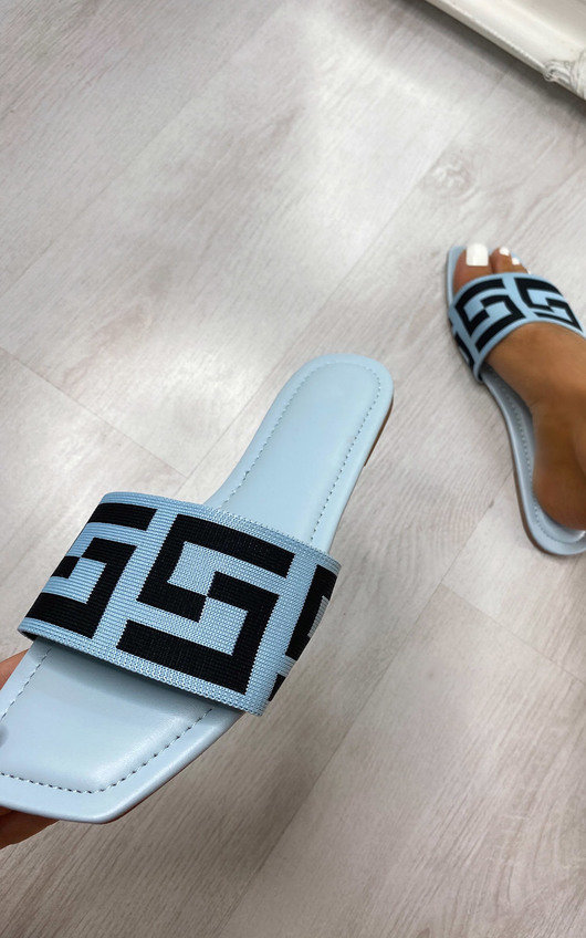 Flo Printed Sliders