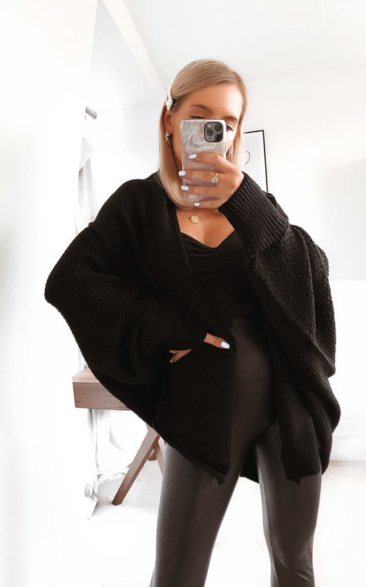 Flo Oversized Knitted Cardigan