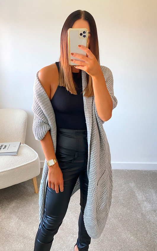 Florence Oversized Knitted Cardigan