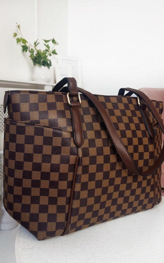 Flossie Check Shoulder Bag