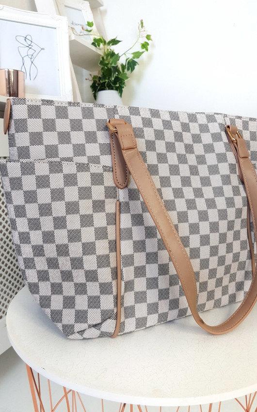 Flossie Check Shoulder Bag