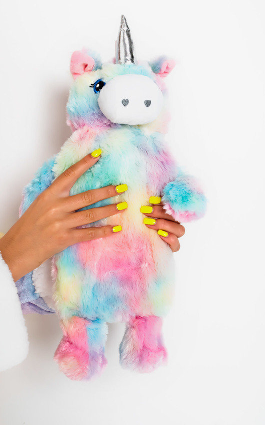 Fluffs Unicorn Character Hot Water Bottle