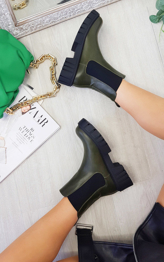 Flynn Chunky Ankle Boots