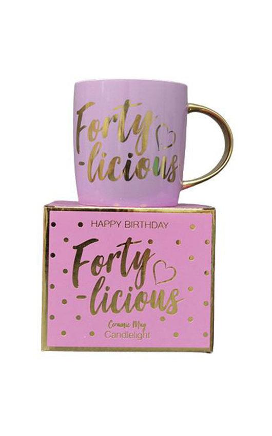 Forty-licious Mug