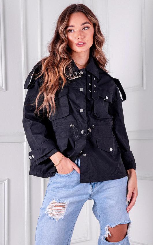 Frankie Belted Oversized Jacket
