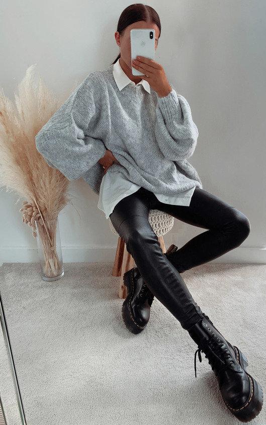 Freja Oversized Knitted Jumper