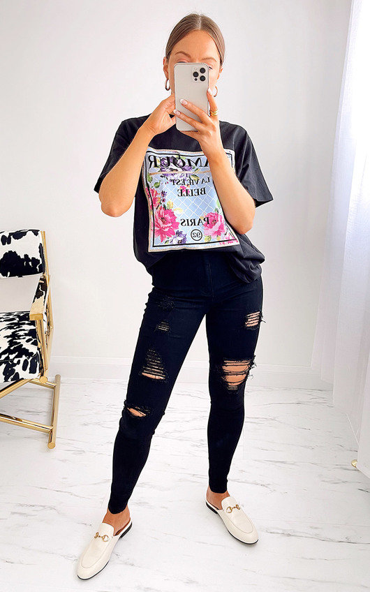 Frida Ripped Jeans