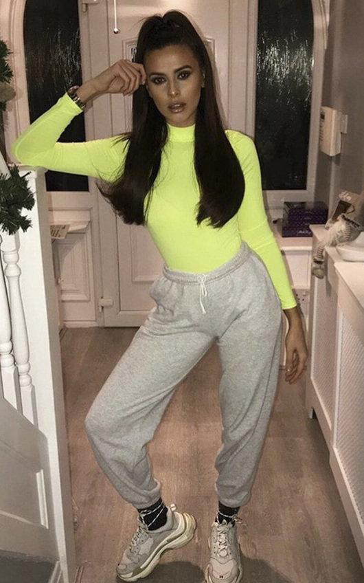 Gemini Lycra Neon Bodysuit