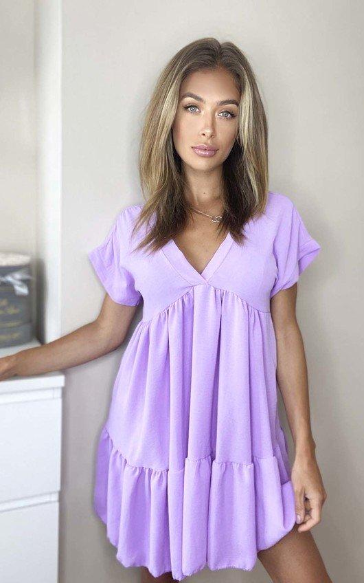 Gemma Layered Shift Dress