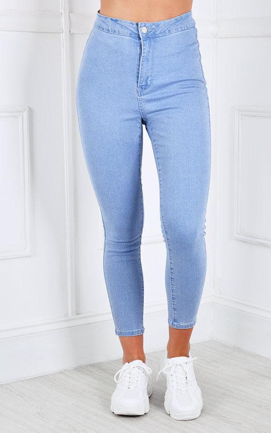 Georgia High Waisted Skinny Jeans