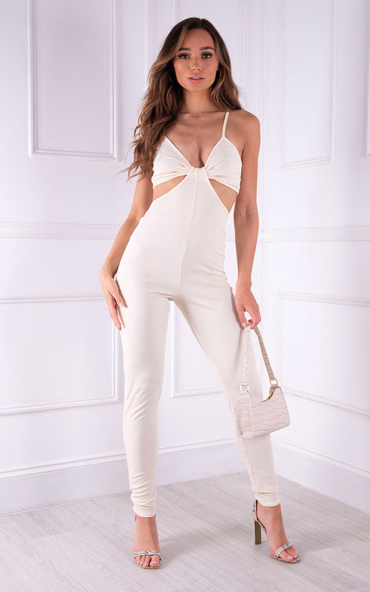 Gina Cut Out Strappy Jumpsuit