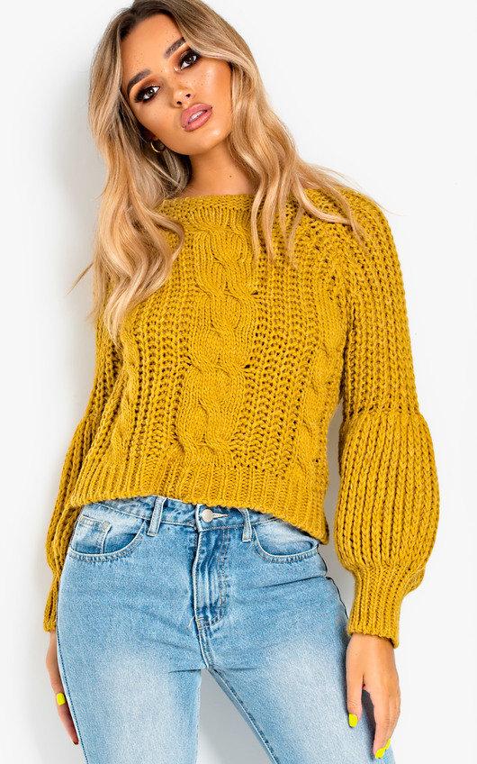 033c1e62e81d Gracie Knitted Jumper in Mustard