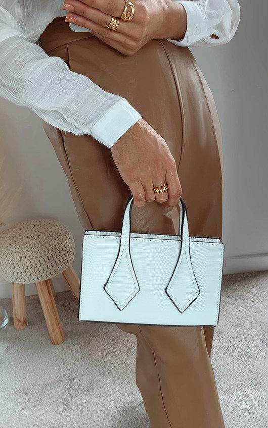 Hallie Faux Leather Bag