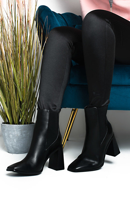 Hanna Heeled Ankle Boots