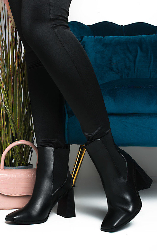 Hanna Heeled Ankle Boots