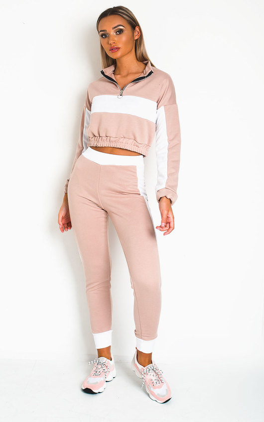 Harlow Striped Lounge Co-ord