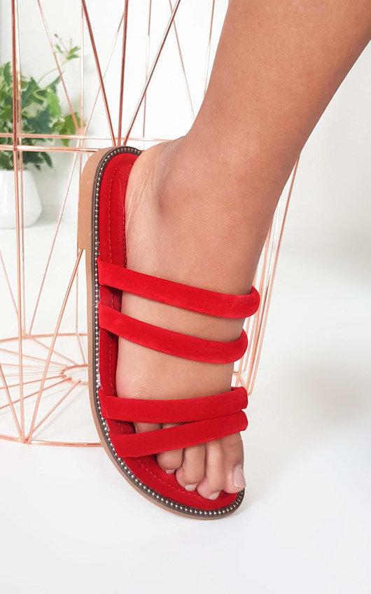 Harper Strappy Faux Suede Sandals