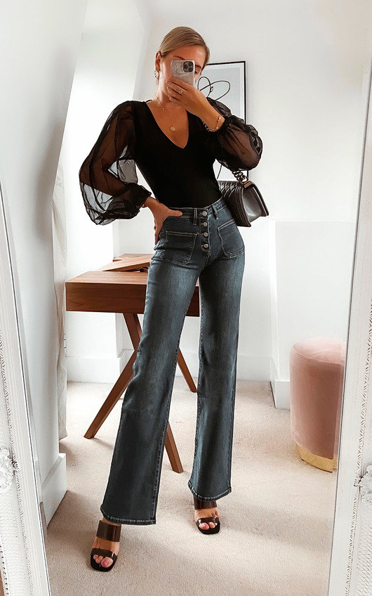 Harvey Straight Leg Jeans