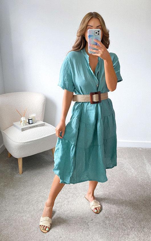 Hazel Tiered Midi Dress