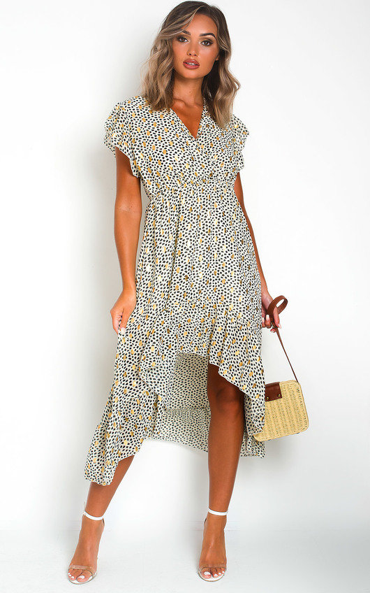 Heath Polka Dot Maxi Dress