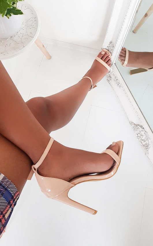 Heidi Barely There High Heels