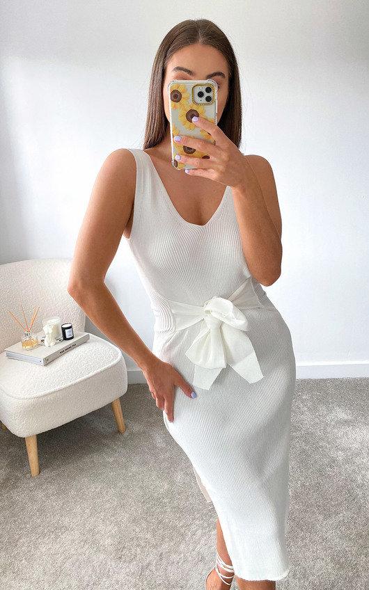 Heidi Knitted Bodycon Midi Dress