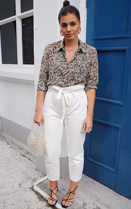 Heidi White Mom Jeans