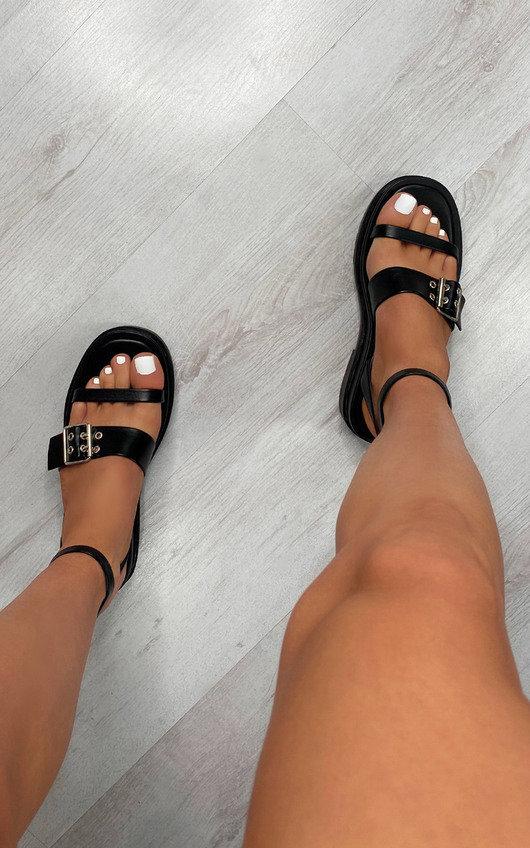 Helena Buckle Sandals