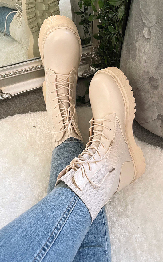 Helena Lace Up Boots