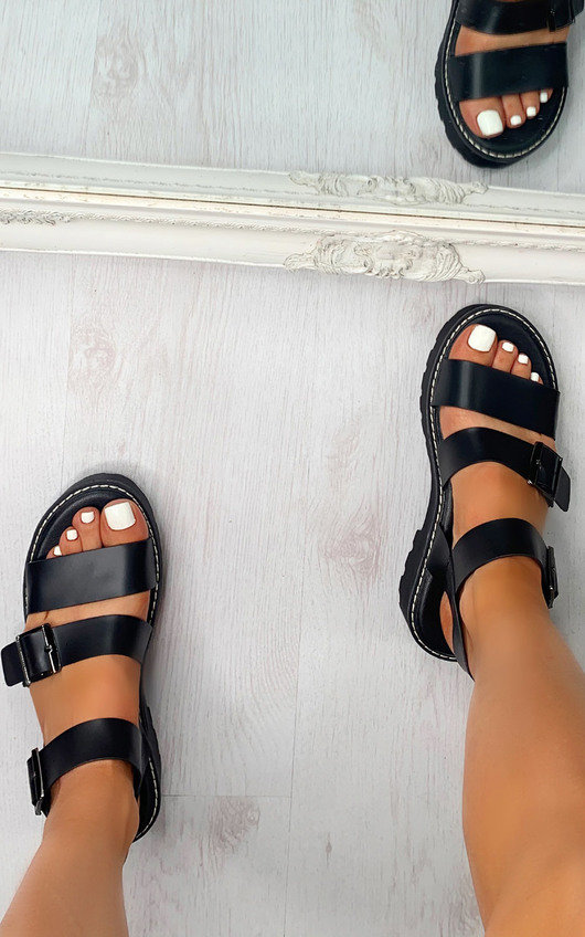 Helena Strappy Chunky Sandals