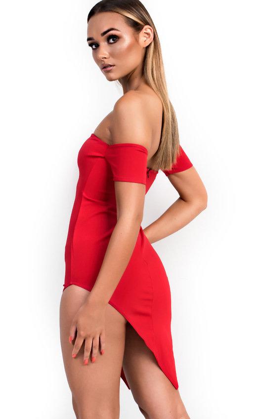 Holly Asymmetric Bodycon Dress