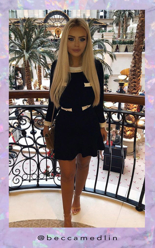 Holly Knitted Flare Dress