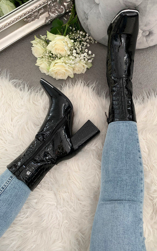 Hope Heeled Ankle Boots