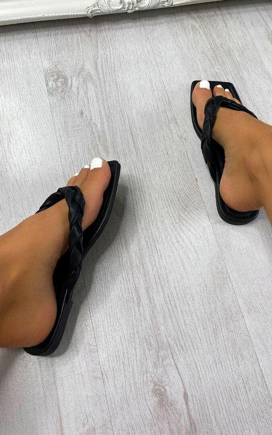 Hope Woven Flip Flop Sandals