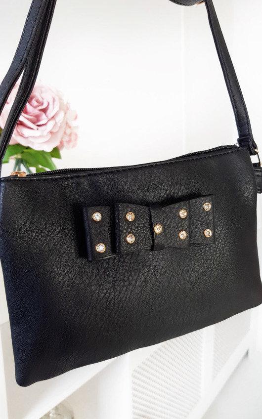 Imogen Bow Detail Cross Body Handbag