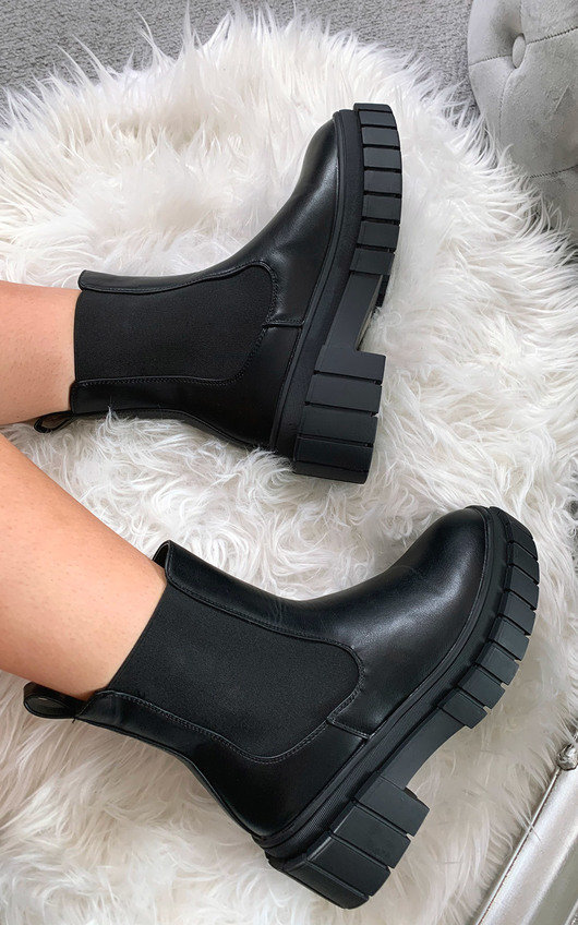 Indie Chunky Ankle Boots