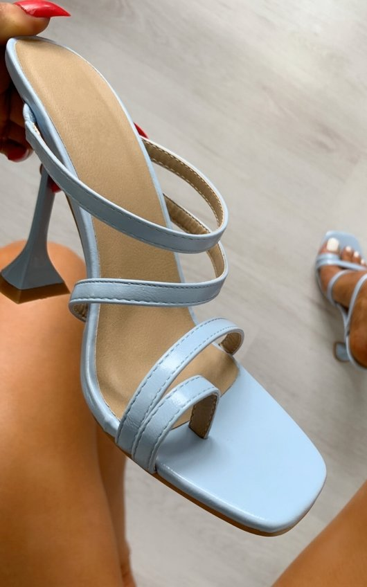 Ingrid Strappy Statement High Heels