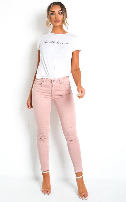Irina Pink Skinny Jeans
