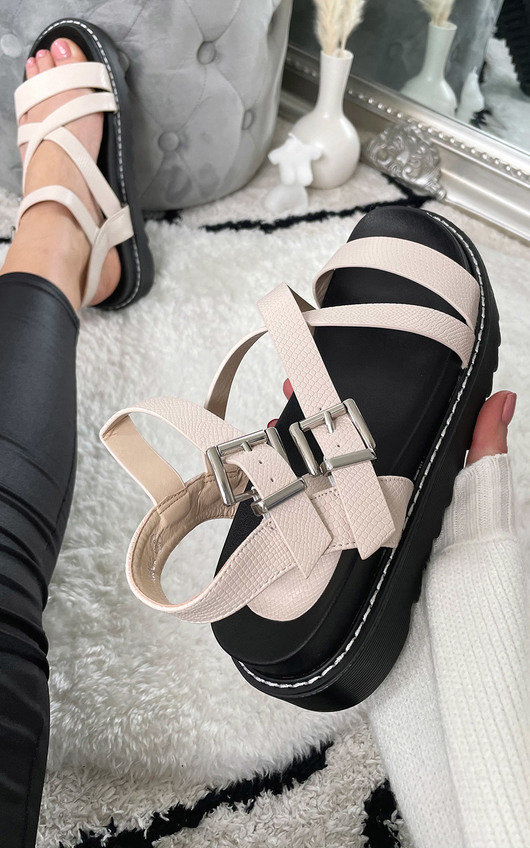 Issa Strappy Chunky Sandals