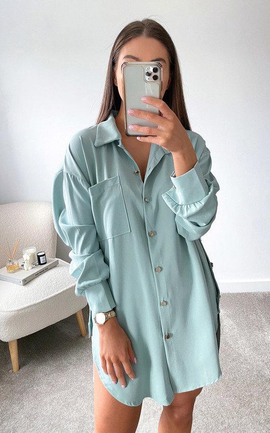 Ivy Oversized Shirt Dress