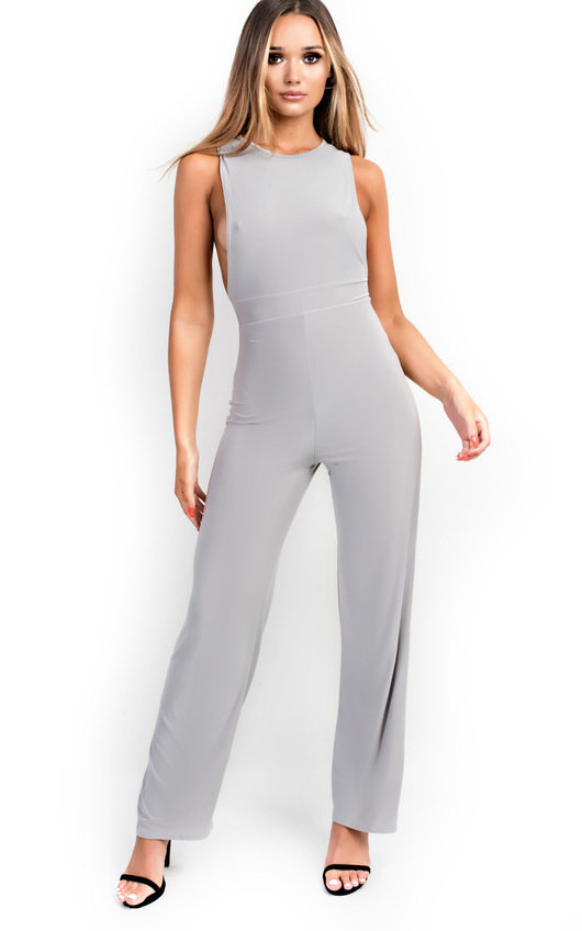 Izabella Slinky Sleeveless Scoop Jumpsuit