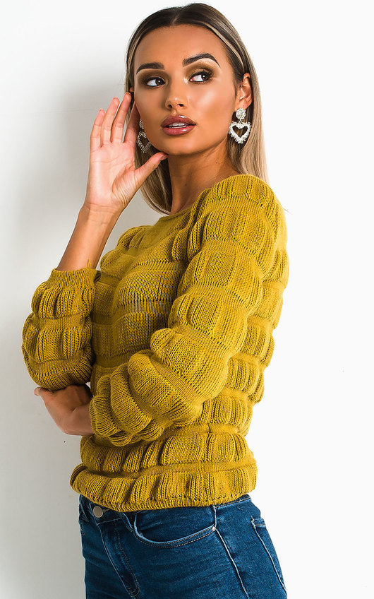 Izzie Chunky Knitted Jumper