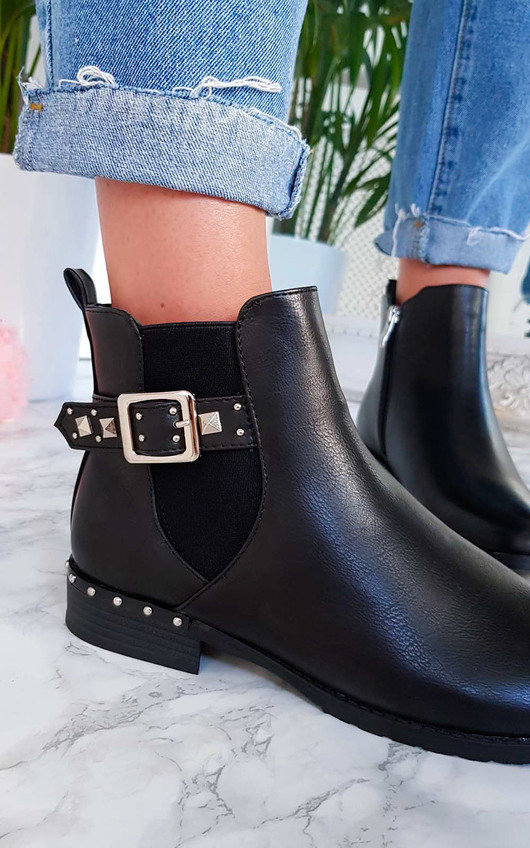 Izzy Studded Ankle Boots