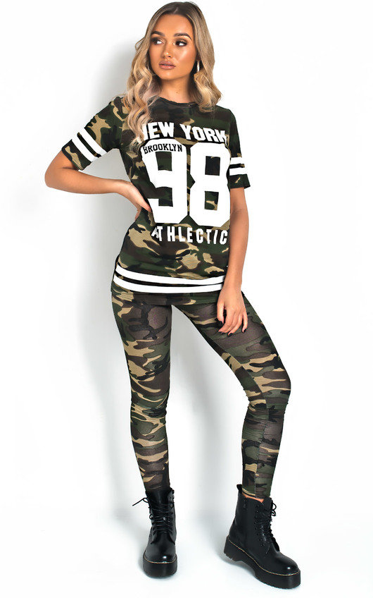 Jamie Camo Lounge Co-ord