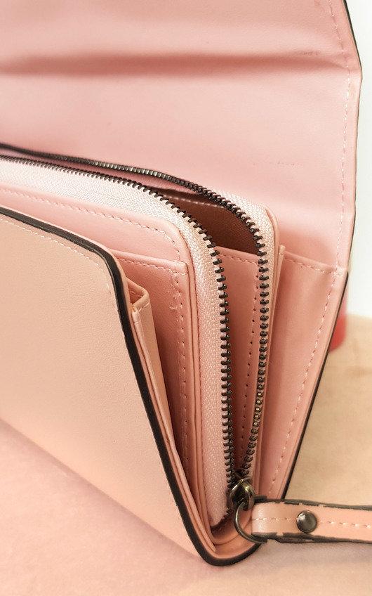 Jamie Faux Leather Purse